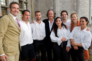 equipe-cavaliers-spectacle-chambord-ludovic-letot