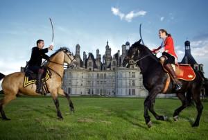 Spectacle équestre chambord Ludovic Letot